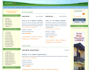 terenuri.net screenshot