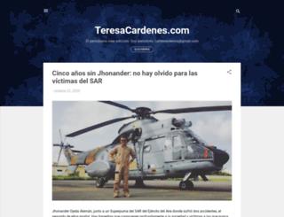 teresacardenes.blogspot.com screenshot