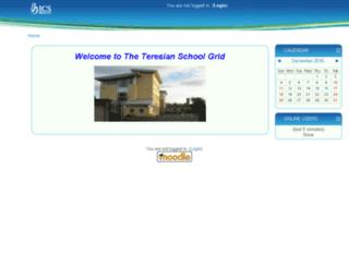 teresian.icsgrid.ie screenshot