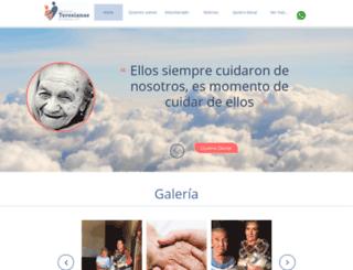 teresianas.org screenshot