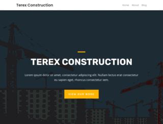terexconstruction.com screenshot