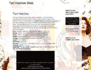 terihatcherweb.com screenshot