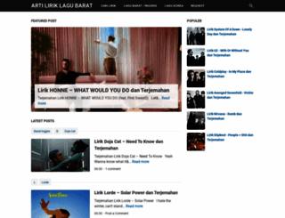 terjemah-lirik-lagubarat.blogspot.co.id screenshot