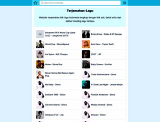terjemahan-lagu.com screenshot