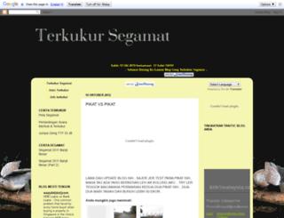 terkukursegamat.blogspot.com screenshot