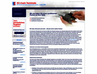 terminal-ec-cash.de screenshot