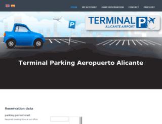 terminalparking.es screenshot