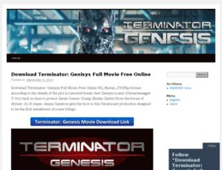 terminatorgenesisfull.wordpress.com screenshot