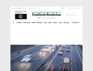 termine.fr-online.de screenshot
