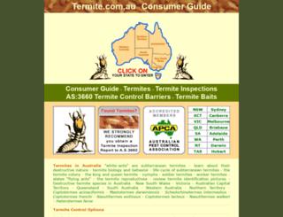 termite.com.au screenshot