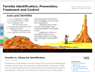 termiteidentification.info screenshot