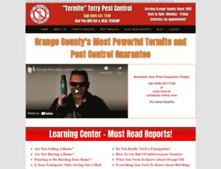 termiteterry.com screenshot
