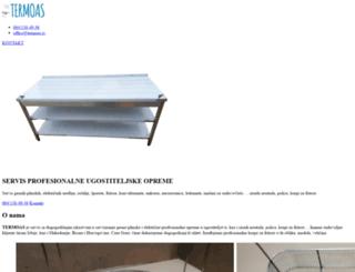 termoas.rs screenshot