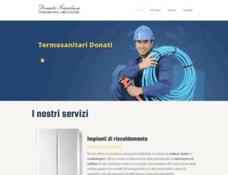 termosanitariadonati.com screenshot
