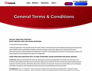 terms.ziplocal.com screenshot