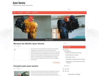 ternak-ayam-serama.blogspot.com screenshot