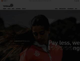 ternua.com screenshot