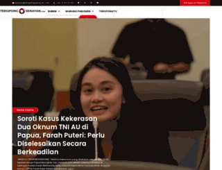 teropongsenayan.com screenshot