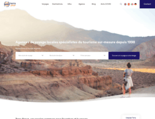 terra-group.com screenshot