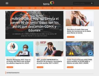 terra.com.mx screenshot