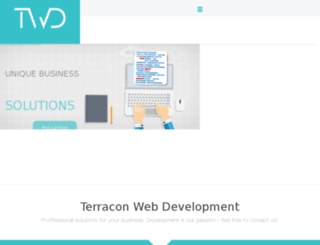 terraconwebdevelopment.com screenshot