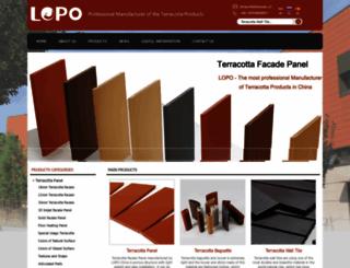 terracottapanel.com screenshot