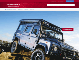 terrafirma4x4.com screenshot