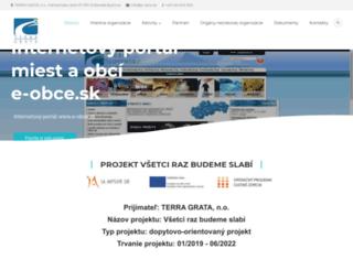 terragrata.sk screenshot