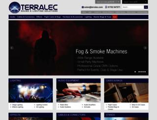 terralec.co.uk screenshot