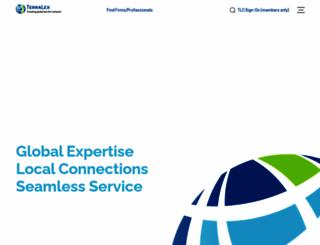terralex.org screenshot