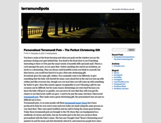 terramundipots.wordpress.com screenshot