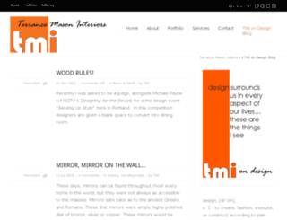 terrancemasoninteriors.blogspot.com screenshot