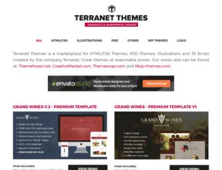 terranet-themes.com screenshot