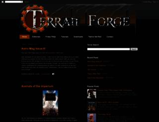 terranforge.blogspot.com screenshot
