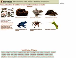 terraristik.com screenshot