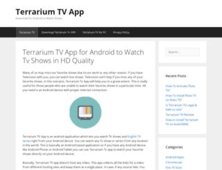 terrariumtvappdownload.com screenshot