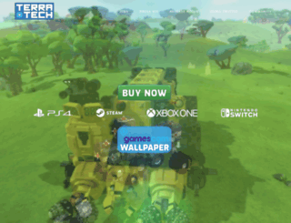 terratechgame.com screenshot