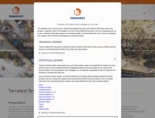 terratest.com screenshot