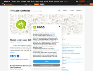 terrazzasulmondo.myblog.it screenshot