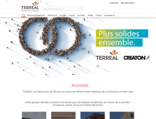 terreal.com screenshot