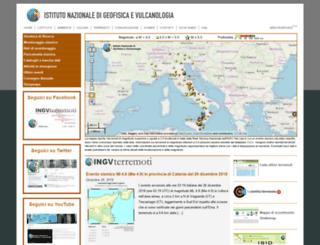 terremoti.ingv.it screenshot
