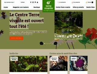 terrevivante.org screenshot