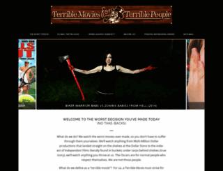 terriblemoviesforterriblepeople.com screenshot