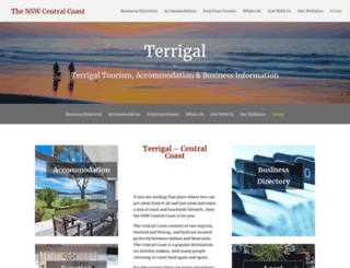 terrigal.org screenshot
