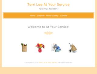 terrileeatyourservice.com screenshot