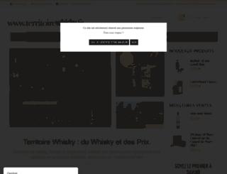 territoirewhisky.fr screenshot