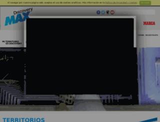 territoriodiscovery.discoverymax.es screenshot