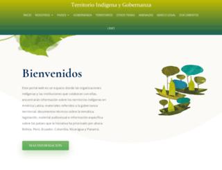 territorioindigenaygobernanza.com screenshot