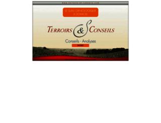 terroirs-et-conseils.com screenshot