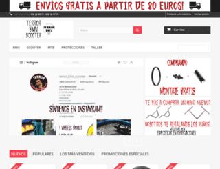 terrorbmx.com screenshot